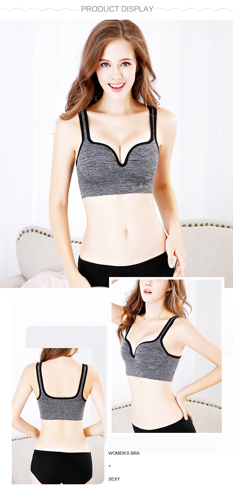 Women Sport Bra Product Display