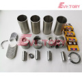 excavator DB33A engine gasket bearing piston ring liner