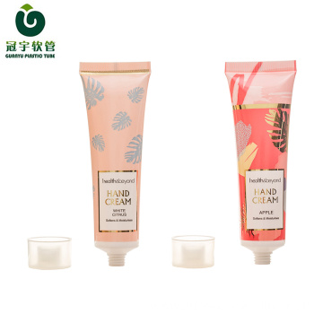 30-35ml cosmetic plastic tube for hand cream packaging