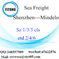 Shenzhen Port LCL Consolidation To Mindelo