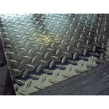 AA1100 H14 Aluminum Check Plate Big 5 Bars