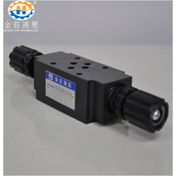 Build Up Type Throttle Valve