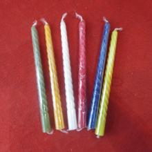 PriceList for for Birthday Spiral Candles Hot sale 22g Colorful Spiral Candle export to Bahrain Importers