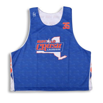 Hot sale printed box lacrosse training tops vest