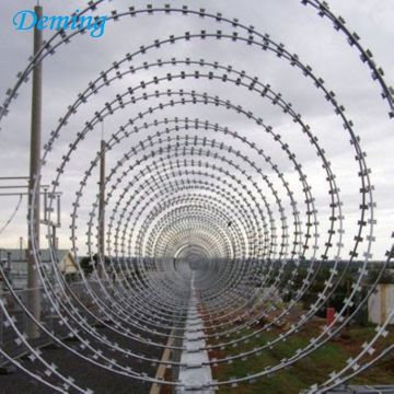 Factory Supply CBT-65 Razor Barbed Wire Uganda