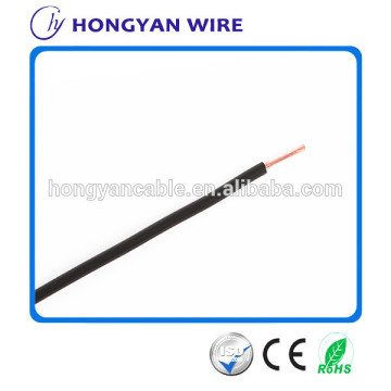 High quality PVC solid bare copper BV 10mm2 electrical cable for house wiring