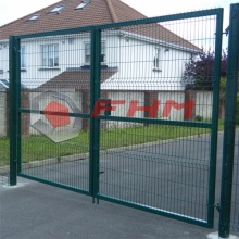 Double Gate Welded Wire Mesh Gate for Garden