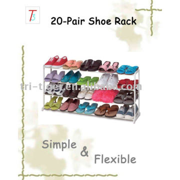 20 pair amazing shoe rack