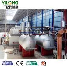 Plastic Pyrolysis to Oil Refining Technology