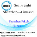 Shenzhen Port LCL Consolidation To Limassol