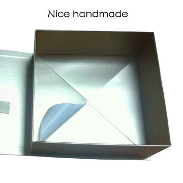 Foldable Custom Cardbaord Gold Gift Box