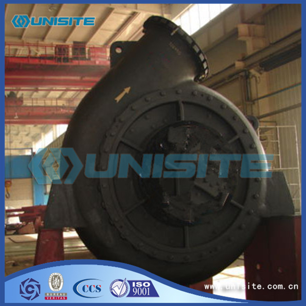 Sand suction steel dredge pump