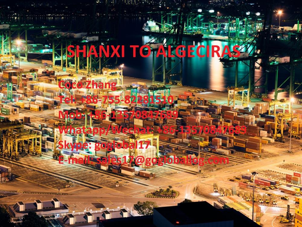 Mainland Shanxi Sea Freight to Spain Algeciras