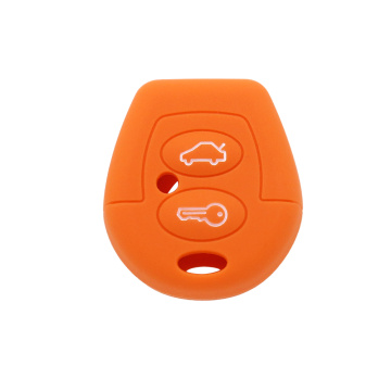 Best Quality for VW Silicone Key Case VW 2 buttons silicone remote key cover export to India Exporter