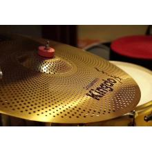 Yellow Mute Cymbals For Drum