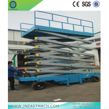 1.0t 12m Hydraulic Self-propelled Battery Scissor Lift