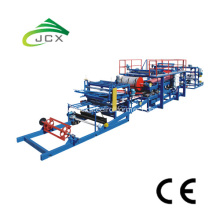 Roll forming machine for eps sandwich panel
