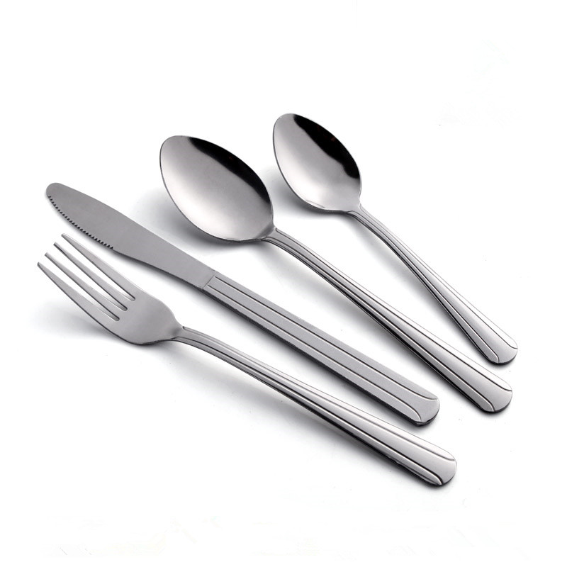 Tumble polish Stainless Steel Cutlery