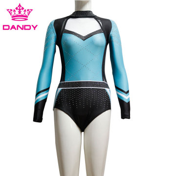 Figure Clinging Competition Girls Gymnastic Suit