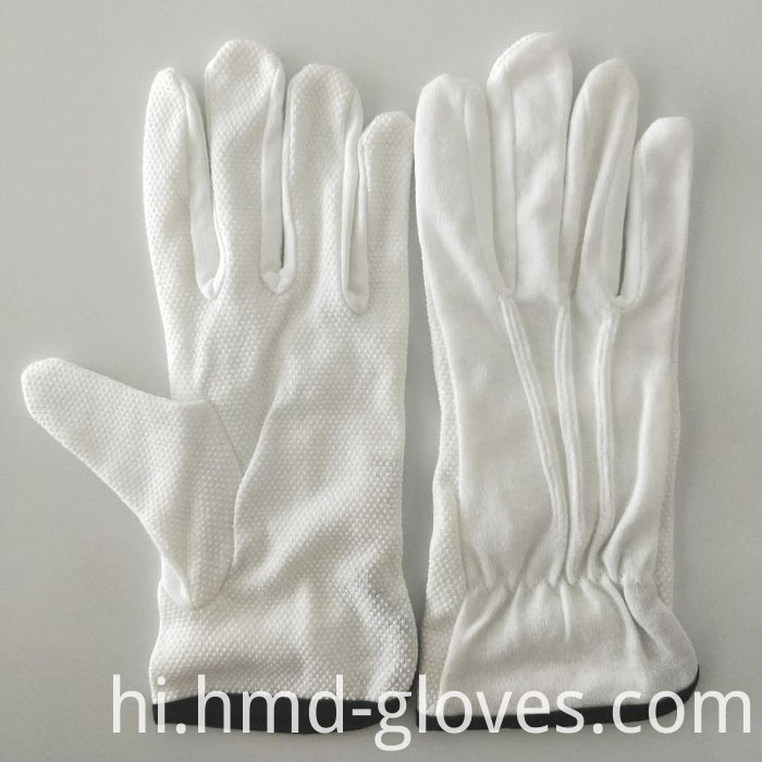 White Sure Cotton Gloves 11