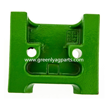 H84479 Lower idler cast support fit John Deere cornhead