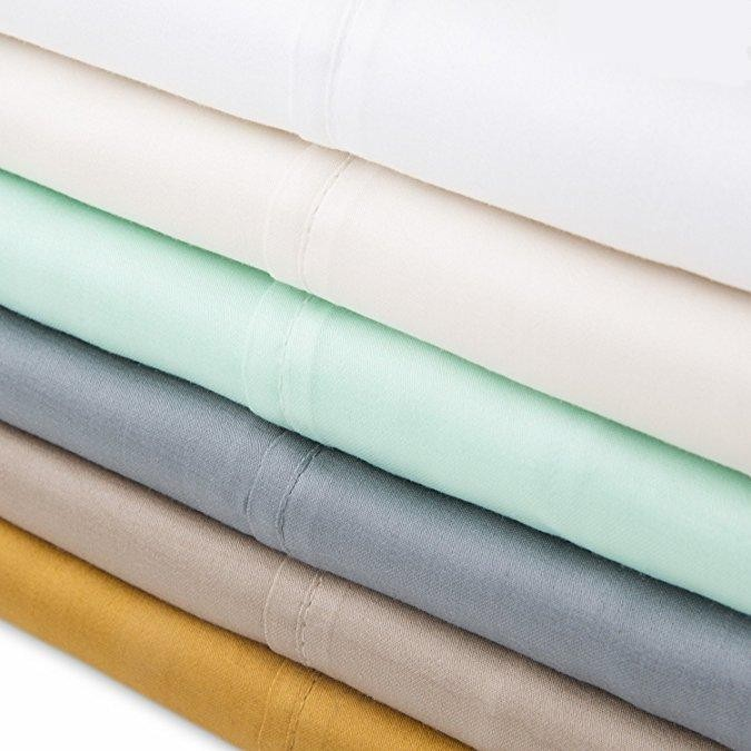 310tc woven tencel cotton pillowcase 0