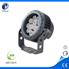 6W small wattage outdoor projector luminaire