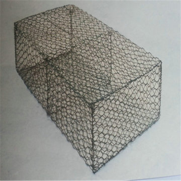Galvanized PVC 3.7mm gabion box