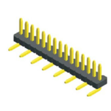 1.27mm Pin Header Single Row SMT Type