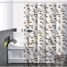 X Long Waterproof Bathroom printed Shower Curtain
