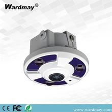 180Degree H.264/H.265 5.0MP IR Dome Fisheye IP Camera