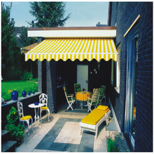 Anti-Wind Aluminium Sun Shade Retractable Outdoor Awnings