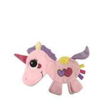 Baby Comfort Towel Unicorn Pink And Rosy