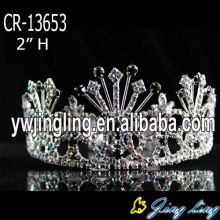 Wholesale Cheap Black And AB Rhinestone Tiara