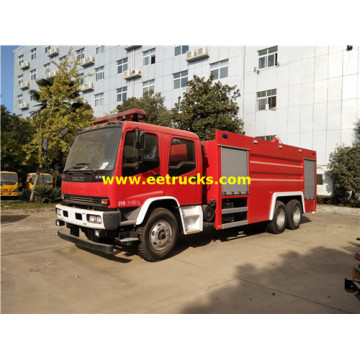 11000 Litres 6x4 Fire Fighting Foam Trucks