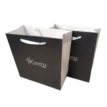 Silk Ribbon Handle Paper Bag Kraft Paper