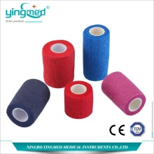 Good Quality for Natural High Elastic Bandage Colorful Non-woven Self-adhesive Bandage export to Falkland Islands (Malvinas) Manufacturers