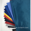 Blue dyed polyester knitted fabric