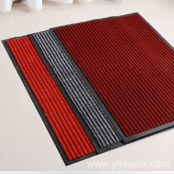 Factory Directly waterproof coil floor mats striped style