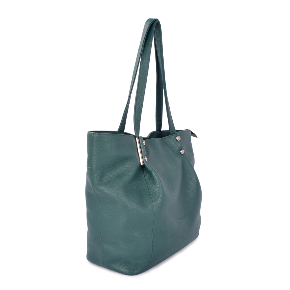 new arrival women genuine leather tote shoulder bag