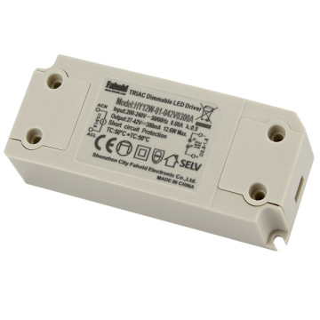 Trailing Edge Dimming Single Voltage 12W LED Driver