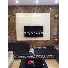 Professional for Faux Marble Wall Panel High gloss wood grain UV Marble panel for cabinet export to Congo Supplier