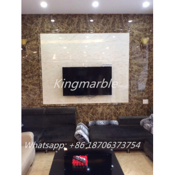 High Clearly Pattern PVC Marble Sheets