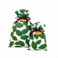 Green Leaves Korea Non-woven Daily Gift Wrapping Bad