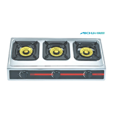 Cast Iron Gas Stove 3 Burners