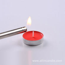 4 hours buring time tealight candle manufacturers