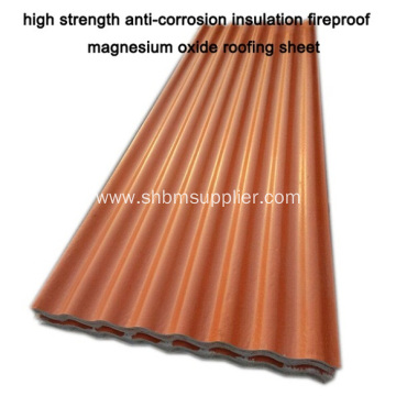 MGO RoofingSheet  Better Than FRP Roofing Tiles