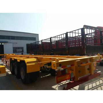 Skeleton Container Diesel Transport Trailer