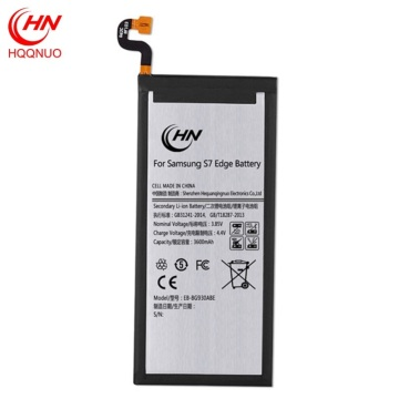 Wholesale rechargeable samsung S7edge battery pack