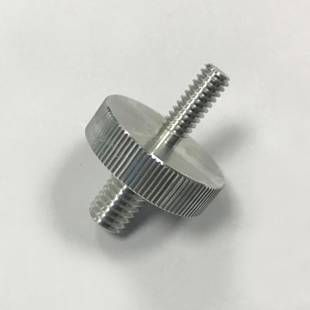 CNC turning double screw